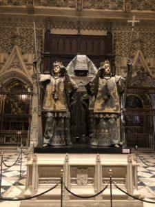 Siviglia, tomba Cristoforo Colombo